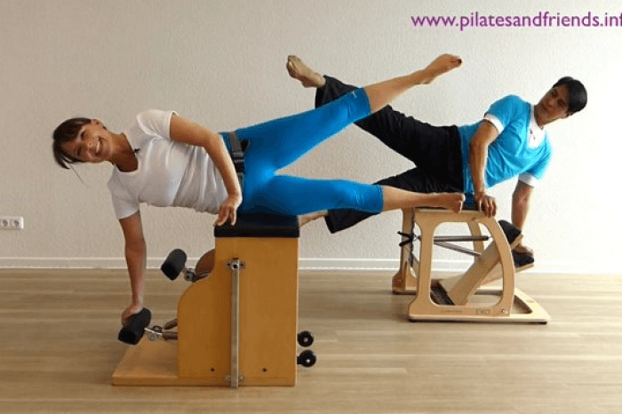 Workout auf dem Chair (27Min)