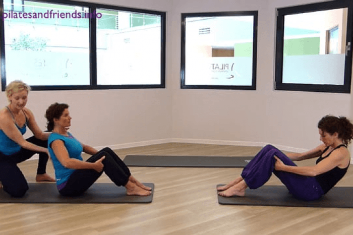 PILATES Bodymotion Basic mit Britta Brechtefeld (56Min)