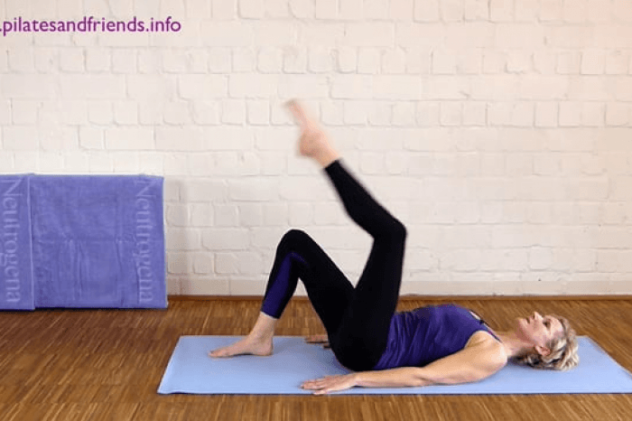 Faszien Pilates: Jumping Bridge (2Min)  (5von10)