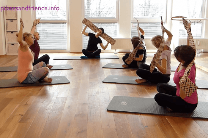 Pilates Core Band Workout mit Kristina Dietrich (37 Min)