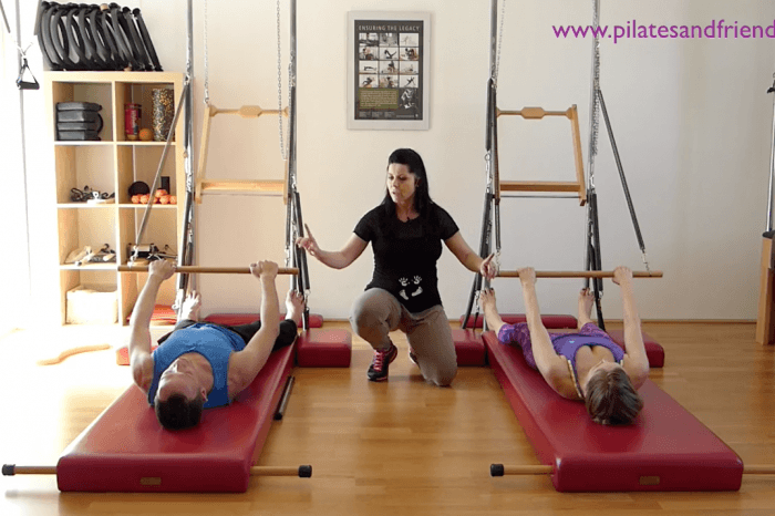 Pilates Tower Klasse mit Sandra Käfer  (47 Min)