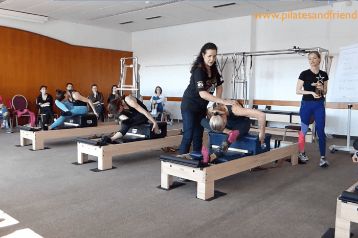 Pilates Event Austria - Reformer - Stretching Series  (12,5 Min)