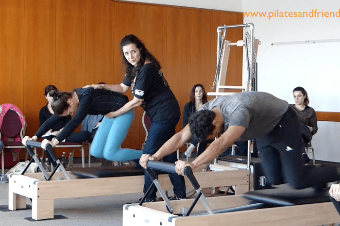 Pilates Event Austria - Reformer - Knee Stretches  (18 Min)