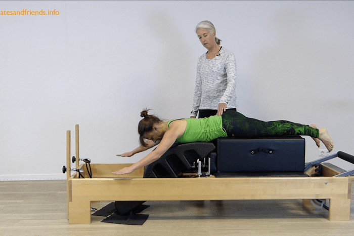 Chapter 19 - Prone Arm Lift on Reformer  (2 Min)