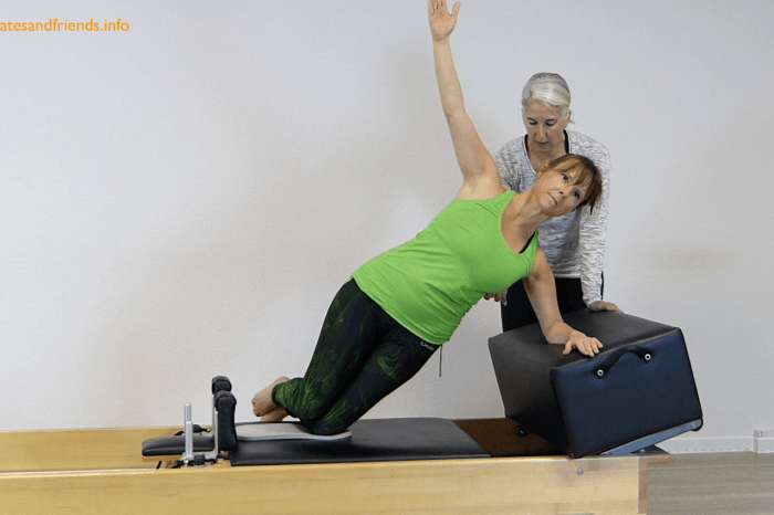 Chapter 20 - Side Plank on the Reformer  (3 Min)